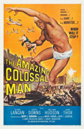 """Movie Posters:Science Fiction, The Amazing Colossal Man (American International, 1957). One Sheet(27"""" X 41""""). Science Fiction.. ..."""