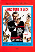 "Movie Posters:James Bond, From Russia with Love (United Artists, 1964). U.S. and U.K.Pressbook (Multiple Pages, 13.25"" X 18"", 9.75"" X 14.5"").. ...(Total: 2 Items)"