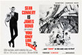 "Movie Posters:James Bond, You Only Live Twice (United Artists, 1967). U.S. and U.K. Pressbooks (Multiple Pages, 13"" X 18, 12"" X 18"" ).. ... (Total: 2 Items)"