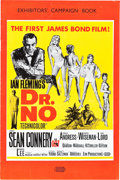 "Movie Posters:James Bond, Dr. No (United Artists, 1962). U.S. and U.K. Pressbook (MultiplePages, 13.25"" X 18"", 11"" X 17"", 9.75"" X 14.75 ).. ... (Total: 3Items)"