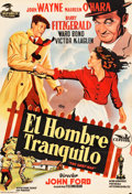 "Movie Posters:Drama, The Quiet Man (Republic, 1952). Spanish One Sheet (26.5"" X 39"")....."