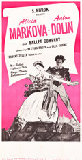 """Movie Posters:Musical, Ballet Theatre Posters (1940s, 1952). Three Sheets (2) (41"""" X 69"""", 41"""" X 78.5"""").. ... (Total: 2 Items)"""