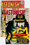 Golden Age (1938-1955):Horror, Tales to Astonish #2 and 3 Group (Marvel, 1959).... (Total: 2 ComicBooks)