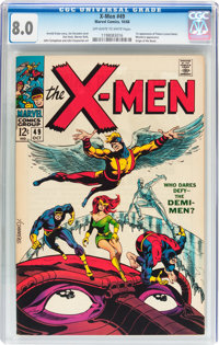 X-Men #49 (Marvel, 1968) CGC VF 8.0 Off-white to white pages