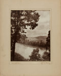 Books:Photography, [Photography]. J. Malcolm Mooney, photographer. Photographic Print Entitled, Cumberland River. [n.d., circa 1930...