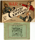 Books:Art & Architecture, [World War I, Political Cartoons]. Pair of Books. Various publishers, 1914, 1915. . ... (Total: 2 Items)