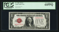 Small Size:Legal Tender Notes, Low Serial Number A00004750A Fr. 1500 $1 1928 Legal Tender Note. PCGS Very Choice New 64PPQ.. ...