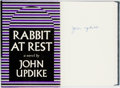 Books:Literature 1900-up, John Updike. SIGNED. Rabbit at Rest. New York: Alfred A.Knopf, 1990....