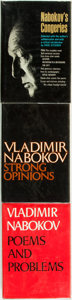 Books:Literature 1900-up, Vladimir Nabokov. Group of Three First Editions. Variouspublishers, 1968 - 1973. . ... (Total: 3 Items)