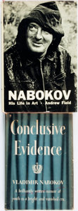 Books:Biography & Memoir, [Vladimir Nabokov]. Pair of Books First Editions by or aboutNabokov. Various publishers, 1951 - 1967. . ... (Total: 2 Items)