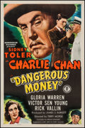"Movie Posters:Mystery, Dangerous Money (Monogram, 1946). One Sheet (27"" X 41""). Mystery....."