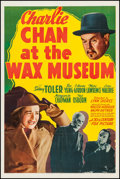 "Movie Posters:Mystery, Charlie Chan at the Wax Museum (20th Century Fox, 1940). One Sheet(27"" X 41""). Mystery.. ..."
