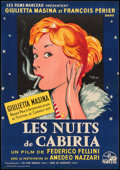 """Movie Posters:Foreign, Nights of Cabiria (Les Films Marceau, 1957). Full-Bleed French Affiche (22"""" X 31.5""""). Foreign.. ..."""