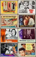Movie Posters:Bad Girl, 1,000 Convicts and a Woman & Others (American International,1971). Lobby Card Set of 8 (7 Sets), Lobby Card Set of 4, Title...(Total: 76 Items)