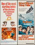 "Movie Posters:Adventure, The Flight of the Phoenix & Others Lot (20th Century Fox,1966). Inserts (9) (14"" X 36""). Adventure.. ... (Total: 9 Items)"