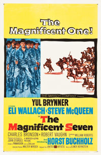 "The Magnificent Seven (United Artists, 1960). One Sheet (27"" X 41"")"