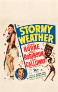 """Movie Posters:Musical, Stormy Weather (20th Century Fox, 1943). Window Card (14"""" X 22"""").. ..."""