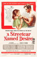 "Movie Posters:Drama, A Streetcar Named Desire (Warner Brothers, 1951). One Sheet (27"" X41"").. ..."