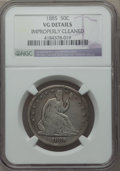 Seated Half Dollars, 1885 50C -- Improperly Cleaned -- NGC Details. VG. NGC Census: (0/67). PCGS Population (4/126). Mintage: 5,200. Numismedia ...