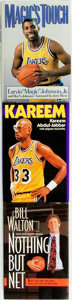 Books:Biography & Memoir, [Biography]. [Sporting Books]. Group of Three SIGNED Titles about Basketball Players. Various publishers and dates.... (Total: 3 Items)
