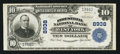 National Bank Notes:Pennsylvania, West York, PA - $10 1902 Plain Back Fr. 626 The Industrial NB Ch. #8938. ...