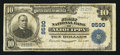 National Bank Notes:Pennsylvania, Aliquippa, PA - $10 1902 Plain Back Fr. 626 The First NB Ch. #8590. ...