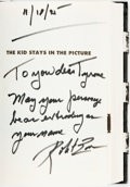 Books:Biography & Memoir, Robert Evans. INSCRIBED. The Kid Stays in the Picture. New York: Hyperion, [1994]. ...