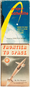 Books:Science & Technology, [Science & Technology]. Pair of Titles Related to Space Exploration. Various publishers and dates.... (Total: 2 Items)