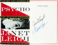 Books:Biography & Memoir, Janet Leigh. SIGNED. Psycho: Behind the Scenes of the ClassicThriller. New York: Harmony Books, [1995]. ...