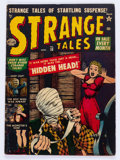 Golden Age (1938-1955):Horror, Strange Tales #10 (Atlas, 1952) Condition: VG....