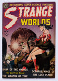 Golden Age (1938-1955):Science Fiction, Strange Worlds #2 (Avon, 1951) Condition: VG-....