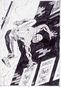 Original Comic Art:Miscellaneous, John Romita, Sr. Amazing Spider-Man #568 Cover PreliminaryDesign Original Art (Marvel, 2008)....