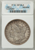 1893 $1 -- Cleaned -- ANACS. VF30 Details. NGC Census: (111/4072). PCGS Population (111/6272). Mintage: 389,792. Numism...