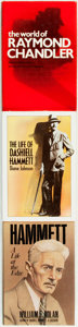 Books:Biography & Memoir, [Raymond Chandler, subject]. [Dashiell Hammett, subject]. Group ofThree Biographies. Various publishers and dates.... (Total: 3Items)