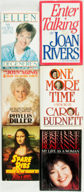 Books:Biography & Memoir, [Comedy and Humor]. [Biography]. Group of Six Titles about Comediennes. Various publishers and dates.... (Total: 6 Items)