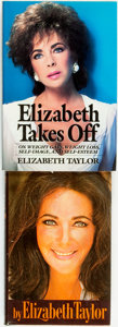 Books:Biography & Memoir, Elizabeth Taylor. Pair of Books. Various publishers and dates....(Total: 2 Items)