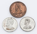 Political:Tokens & Medals, Ulysses S. Grant: Three 1868 campaign medals in choice condition, USG 1868-15, 25, & 27 in DeWitt/Sullivan.. ...