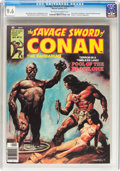 Magazines:Adventure, Savage Sword of Conan #22 (Marvel, 1977) CGC NM+ 9.6 Off-white to white pages....