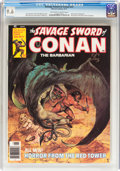 Magazines:Adventure, Savage Sword of Conan #21 (Marvel, 1977) CGC NM+ 9.6 Off-white to white pages....