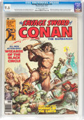 Magazines:Adventure, Savage Sword of Conan #16 (Marvel, 1976) CGC NM+ 9.6 Off-white to white pages....