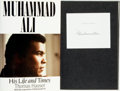 Books:Biography & Memoir, Muhammad Ali, subject. SIGNED. Thomas Hauser, author. Muhammad Ali: His Life and Times. New York: Simon & Schust...