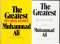 Books:Biography & Memoir, Muhammad Ali. SIGNED. The Greatest: My Own Story. New York: Random House, [1975]....