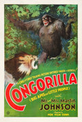 "Movie Posters:Action, Congorilla (Fox, 1932). One Sheet (28"" X 41.5"").. ..."