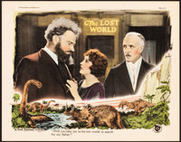 """The Lost World (First National, 1925). Lobby Card (11"""" X 14"""")"""