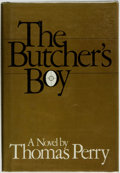 Books:Mystery & Detective Fiction, Thomas Perry. The Butcher's Boy. New York: CharlesScribner's Sons, [1982]....