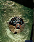 Explorers:Space Exploration, Apollo 10 CSM Charlie Brown Large Color Photo Signed by WaltCunningham and Originally from His Personal Collectio...