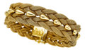 Estate Jewelry:Bracelets, Gold Bracelet, Unoaerre. ...
