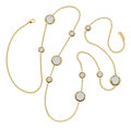 Estate Jewelry:Necklaces, Rock Crystal Quartz, Gold Necklace, Ippolita. ...