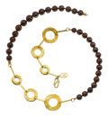 Estate Jewelry:Necklaces, Opal, Gold Necklace, Patricia Makena. ...