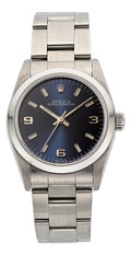 Estate Jewelry:Watches, Rolex Stainless Steel Oyster Perpetual Watch . ...